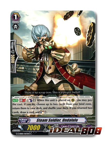 Steam Soldier, Undalulu - G-CHB01/057EN - C