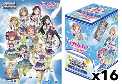Love Live! Sunshine (English) Weiss Schwarz Booster  Case (16 Boxes)