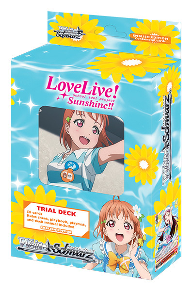 Love Live! Sunshine (English) Weiss Schwarz Trial Deck