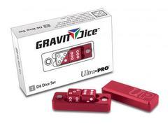 Ultra Pro D6 - 2 Dice Set Gravity Dice - Crimson (#84874)