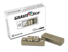 Ultra Pro D6 - 2 Dice Set Gravity Dice - Desert (#84871)