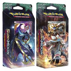 SM Sun & Moon - Guardians Rising (SM02) Pokemon Theme Deck Set - Hidden Moon & Steel Sun (Lunalal & Solgaleo) [Both Decks] * PRE