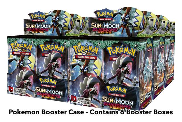 SM Sun & Moon - Guardians Rising (SM02) Pokemon Booster  Case (6 Boxes) * PRE-ORDER Ships May.5