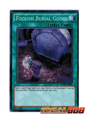 Foolish Burial Goods - RATE-EN065 - Secret Rare - Unlimited Edition