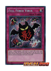 Full Force Virus - RATE-EN078 - Secret Rare - Unlimited Edition