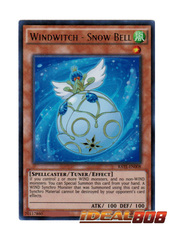 Windwitch - Snow Bell - RATE-EN008 - Ultra Rare - Unlimited Edition