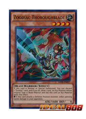 Zoodiac Thoroughblade - RATE-EN017 - Ultra Rare - Unlimited Edition