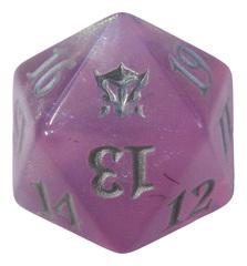 MTG Spindown 20 Life Counter - DTK Dragons of Tarkir (Purple)