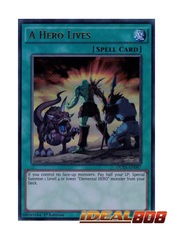 A Hero Lives - DUSA-EN087 - Ultra Rare - 1st Edition