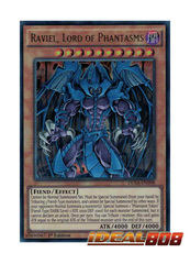 Raviel, Lord of Phantasms - DUSA-EN098 - Ultra Rare - 1st Edition