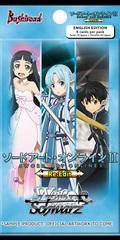 Sword Art Online Re: Edit (English) Weiss Schwarz Booster Pack * PRE-ORDER Ships Apr.28