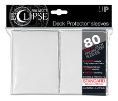 Ultra Pro Matte Eclipse Large Sleeves 80ct - White (#85110)