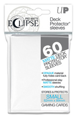 Ultra Pro Matte Eclipse Small Sleeves 60ct - White (#85268)