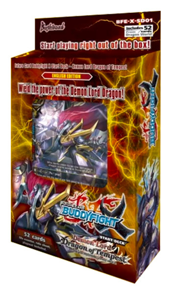 BFE-X-SD01 Demon Lord Dragon of Tempest (English) Future Card Buddyfight Starter Deck