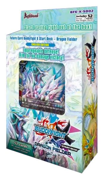 BFE-X-SD02 Dragon Fielder (English) Future Card Buddyfight Starter Deck
