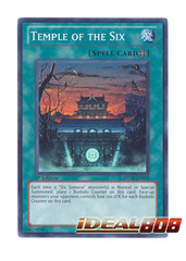 Temple of the Six - Super Rare - STOR-EN051 - Unlimited on Ideal808