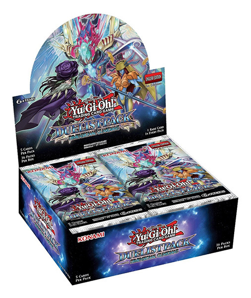 Duelist Pack: Dimensional Guardians (1st Edition) Booster Box