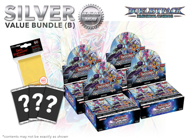 Duelist Pack: Dimensional Guardians Bundle (B) Silver - Get 4x Booster Boxes + Bonus Items