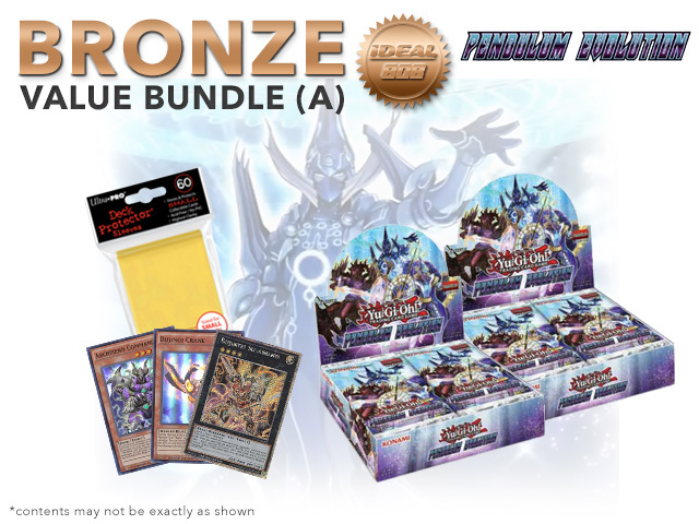 Pendulum Evolution Bundle (A) Bronze - Get 2x Booster Boxes + Bonus Items * Jun.23