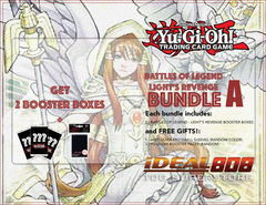 Yugioh Battles of Legend - Light's Revenge Bundle (A) Bronze - Get x2 Booster Boxes + Bonus Items Jul.7
