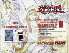 Yugioh Battles of Legend - Light's Revenge Bundle (B) Silver - Get x4 Booster Boxes + Bonus Items Jul.7