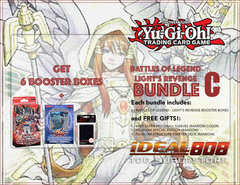 Yugioh Battles of Legend - Light's Revenge Bundle (C) Gold - Get x6 Booster Boxes + Bonus Items Jul.7