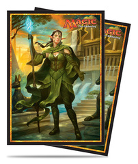 Magic the Gathering Amonkhet Ultra Pro Sleeve 80ct - Nissa, Steward of Elements (#86547)