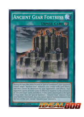 Ancient Gear Fortress - SR03-EN022 - Common - 1st Edition