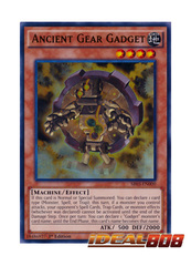 Ancient Gear Gadget - SR03-EN000 - Ultra Rare - 1st Edition