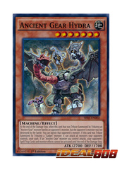 Ancient Gear Hydra - SR03-EN002 - Super Rare - 1st Edition