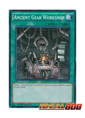 Ancient Gear Workshop - SR03-EN024 - Common - 1st Edition