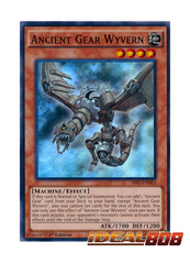 Ancient Gear Wyvern - SR03-EN003 - Super Rare - 1st Edition