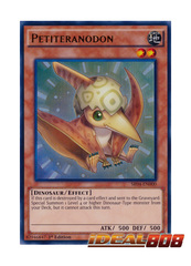 Petiteranodon - SR04-EN000 - Ultra Rare - 1st Edition