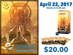 [EVENT TICKET] ToyLynx - Dole Cannery - Amonkhet Prerelease<br 15>[April 22, 2017 at 3:30 pm] <br> * Limit 1 per *
