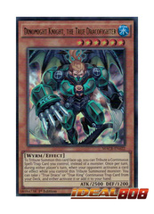 Dinomight Knight, the True Dracofighter - MACR-EN022 - Ultra Rare - 1st Edition