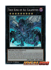 True King of All Calamities - MACR-EN046 - Super Rare - 1st Edition