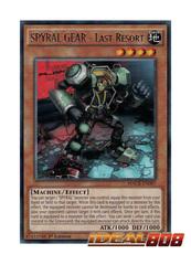 SPYRAL GEAR - Last Resort - MACR-EN087 - Rare - 1st Edition