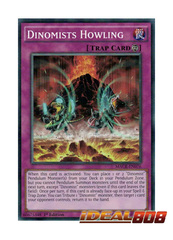 Dinomists Howling - MACR-EN076 - Common - 1st Edition