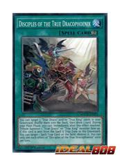 Disciples of the True Dracophoenix - MACR-EN055 - Common - 1st Edition