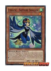 Lyrilusc - Sapphire Swallow - MACR-EN013 - Common - 1st Edition