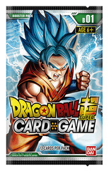 DBS-B01 Galactic Battle (English) Dragon Ball Super Booster Pack