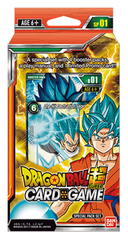 DBS-SP01 Galactic Battle (English) Dragon Ball Super Special Pack Set [Containts 4 Galactic Battle Packs]
