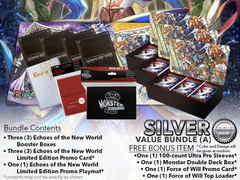Force of Will L04 Bundle (A) Silver - x 3 Echoes of the New World Booster Box + FREE Bonus