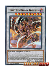 Tyrant Red Dragon Archfiend - DPDG-EN030 - Ultra Rare