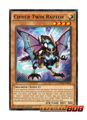 Cipher Twin Raptor - DPDG-EN036 - Rare