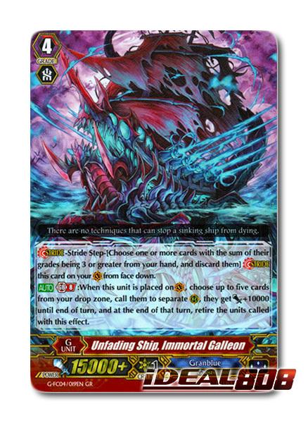 Unfading Ship, Immortal Galleon - G-FC04/019EN - GR
