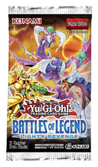 Battles of Legend - Light's Revenge - (1st Edition) Booster Pack