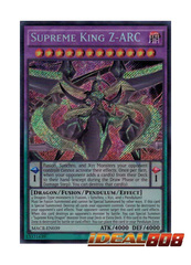 Supreme King Z-ARC - MACR-EN039 - Secret Rare - Unlimited Edition