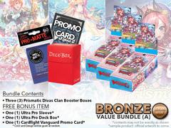 Cardfight Vanguard G-CB05 Bundle (A) Bronze - Get x3 Prismatic Divas Booster Box + FREE Bonus
