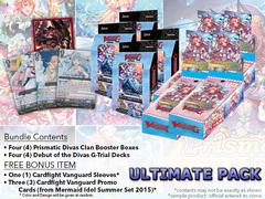 Cardfight Vanguard G-CB05 G-TD14 Ultimate Pack - Get x4 Prismatic Divas Boxes & x4 Debut Divas Decks + FREE Bonus